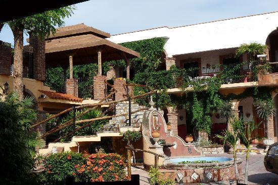 El Fuerte, México: Vista general del hotel