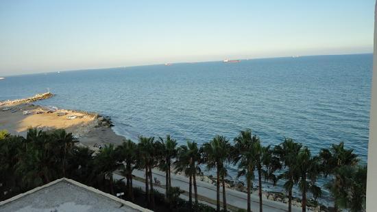 Mersin HiltonSA: Sea view