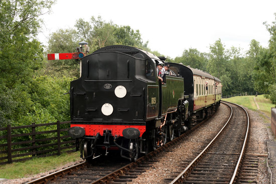 Uckfield, UK: Bluebell Railway1