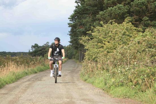Happy Trails Mountain Biking: Easy Peasy Trail Pentland Hills Edinburgh