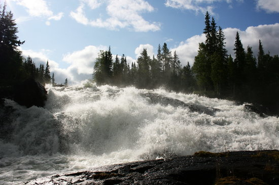 Yellowknife, Canada: Cameron River Ramparts