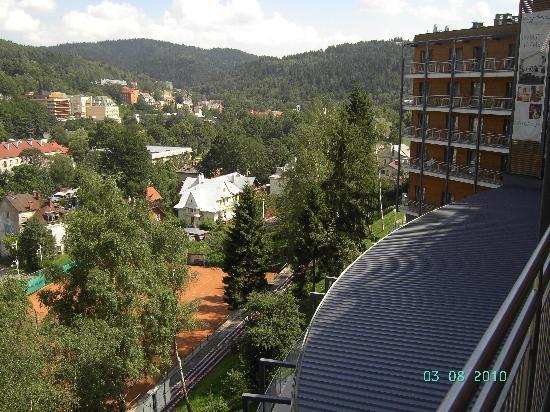 Hotel Krynica Conference & Spa: Tolle Aussicht aus 403