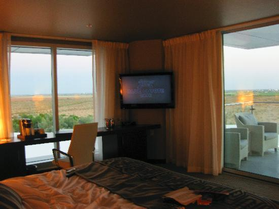 Talking Stick Resort: Sunset in the room