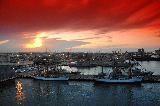 Emporio Veracruz: Vista del Sky lounge de Emporio