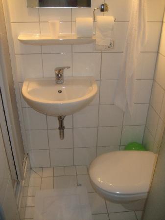 Hotel am Schloss: Badezimmer
