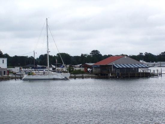 Reedville, VA: View from the Cruise boat