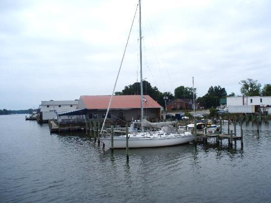 Reedville, VA: What you hope to see at the end of a long day on the water!