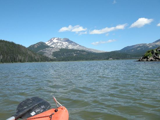 Kayaking on Sparks Lake-Bend, Or