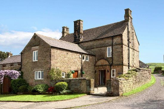 Peak District National Park, UK : Elton Old Hall c1668 - Small Village of Year near Bakewell, Matlock, Derbyshire