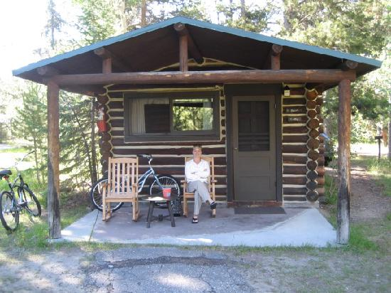 Sitting On The Porch At Jenny Lake Lodge Cabins Part 35
