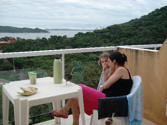 Almar Buzios Pousada: desde el balcon