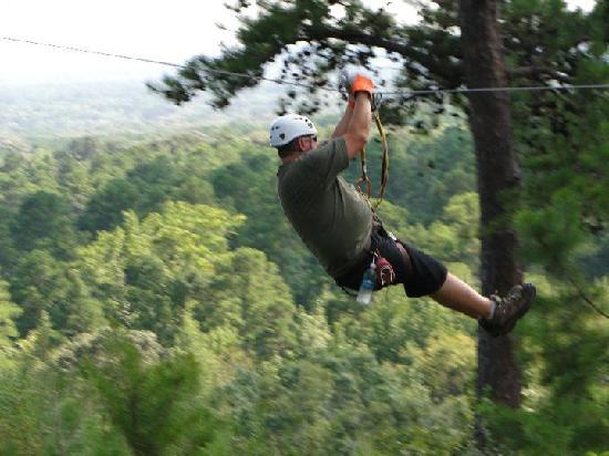New York Texas Zipline Adventures: Flying through the air