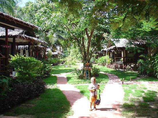 Longtail Beach Resort: Longtail Beachresort -  The Garden