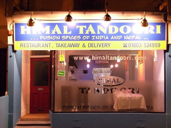 Himal Tandoori from the front