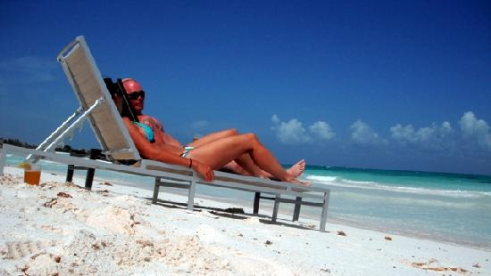 Catalonia Royal Tulum: Perfect for lounging with a cerveza.