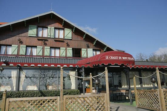 facade du chalet mont roland foto di hotel le chalet du mont roland jura tripadvisor