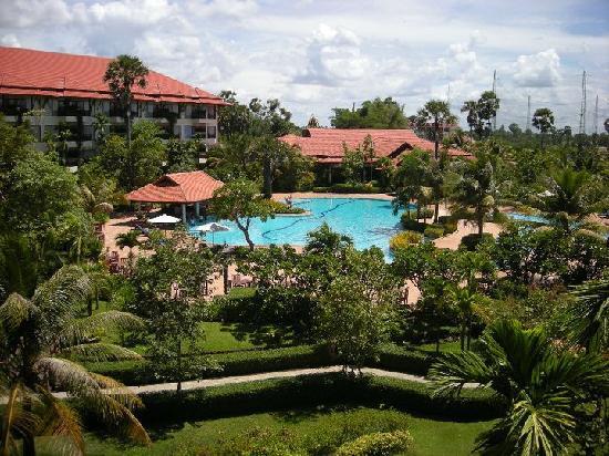 Angkor Palace Resort & Spa: Hotel view