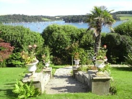 St Mawes, UK: The lovely Braganza gardens