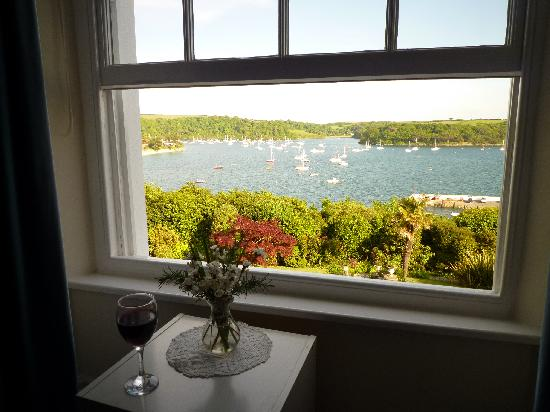 St Mawes, UK: our lovely view!