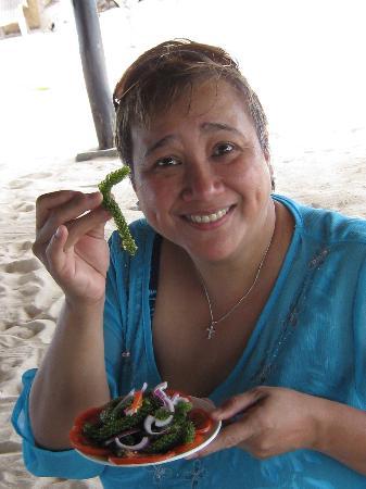 Dos Palmas Island Resort & Spa: exotic food. Yum!!