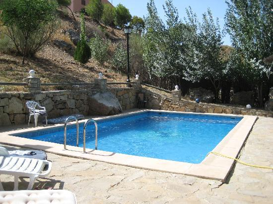 El Galgo: The swimming pool