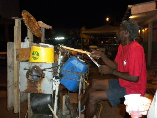 Gros Islet, St. Lucia: one of a kind music