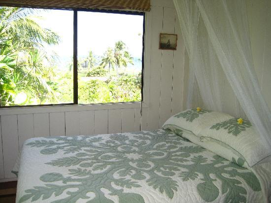The Guest Houses at Malanai in Hana : one of the 2 bedrooms