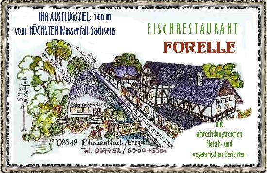 Blauenthal, Germany: Hotelanlage m. Restaurant u. Parkgaststaette