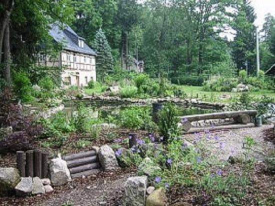 Blauenthal, Germany: Parkanlage m. Gaertnerhaus