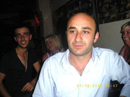 Erzincan Restaurant : This is the man with the friendly smile hello to aytek