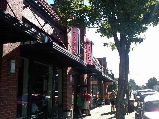 Cadillac Of Portland >> Outside View Picture Of Cadillac Cafe Portland Tripadvisor