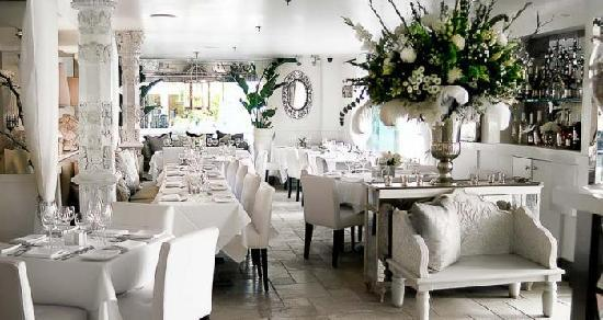 Inside Villa Blanca Restaurant Picture Of