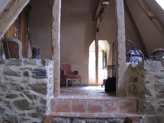 Manoir de La Villeneuve : Living room area