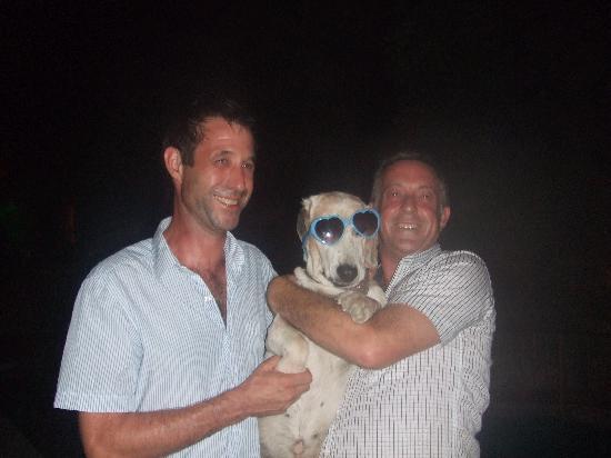 Aegean Gate Hotel: Rory, grandad and Gary