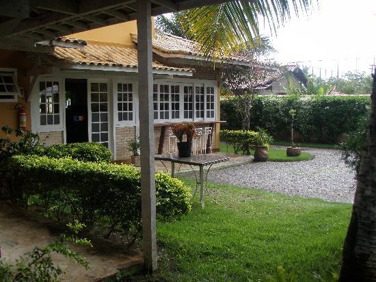 Hotel Pousada Luar de Buzios: recepcion