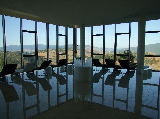 "Sparkling Hill Resort: The ""Serenity Room"" in the spa"