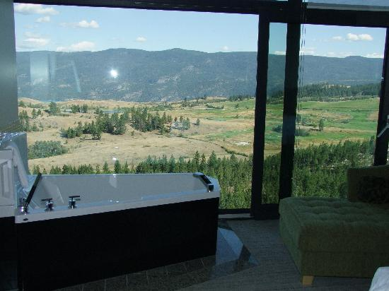 Sparkling Hill Resort: View from other side of the guest room