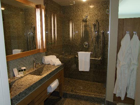 Sparkling Hill Resort: Guest room shower