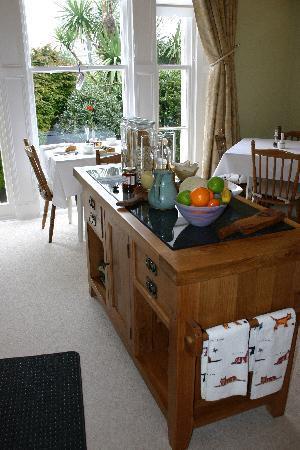 Trafalgar House: Breakfast Room