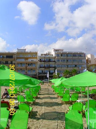 Hotel Poseidon: spiaggia