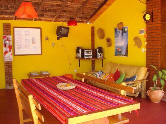 Garden Stone Hostel : Area del quincho...