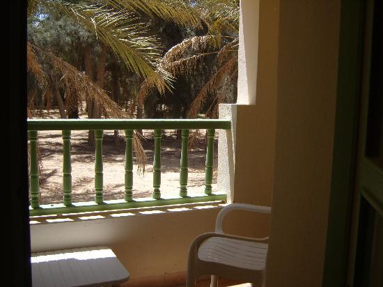 Hotel Sahara Douz: terraza habitacion