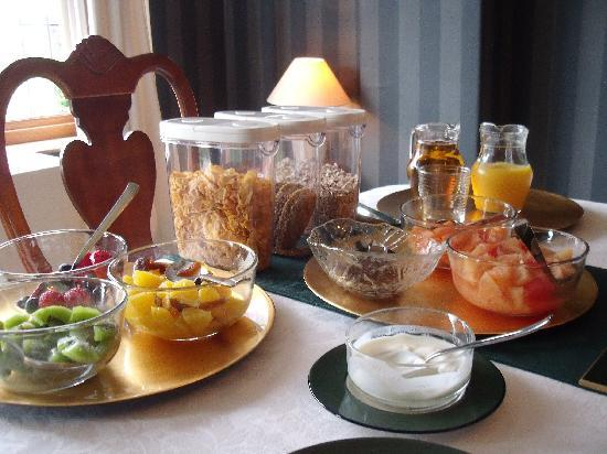 The Old Rectory Bed and Breakfast : Breakfast