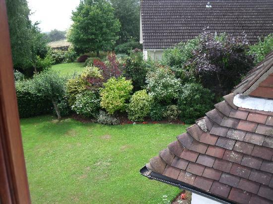 The Old Rectory Bed and Breakfast : View from Bedroom 1