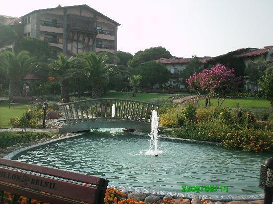Papillon Belvil Hotel: Gardens