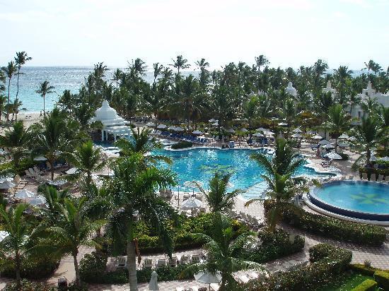 Hotel Riu Palace Punta Cana: Piscina