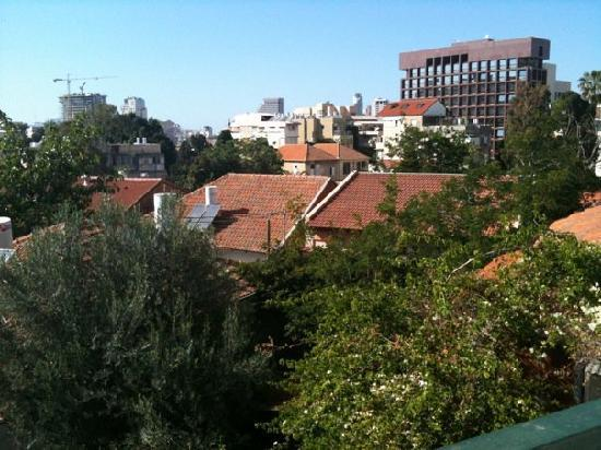 Villa Vilina Oasis in Neve Tzedek: The View from the kitchen and from all around
