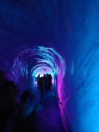 Montenvers - Mer de Glace train: ice cave