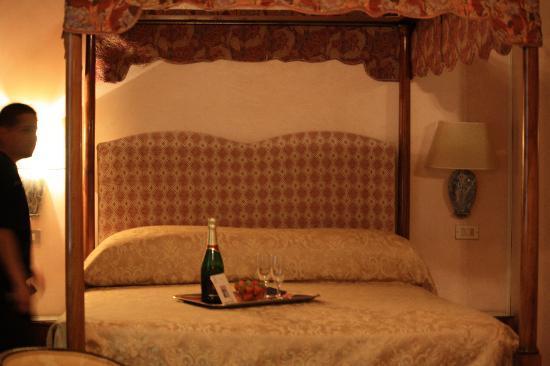 Hotel David: our honeymoon treat, so thoughtful!