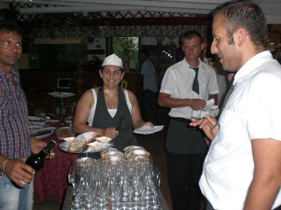 Agriturismo Resort Costa House: buonissimi i cannoli di Rosaria